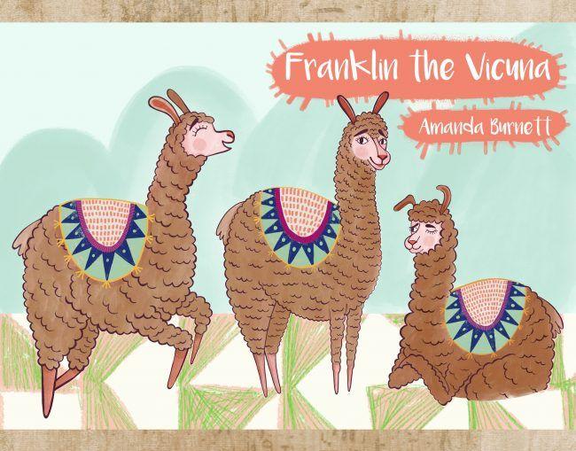 Franklin the Vicuna by Amanda Burnett