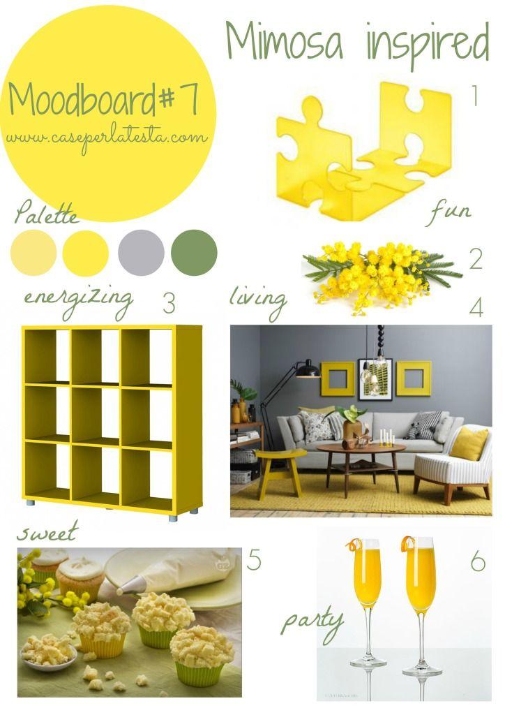 Mymoodboardonwednesday #5 ~ Mimosa Inspired | Caseperlatesta.com