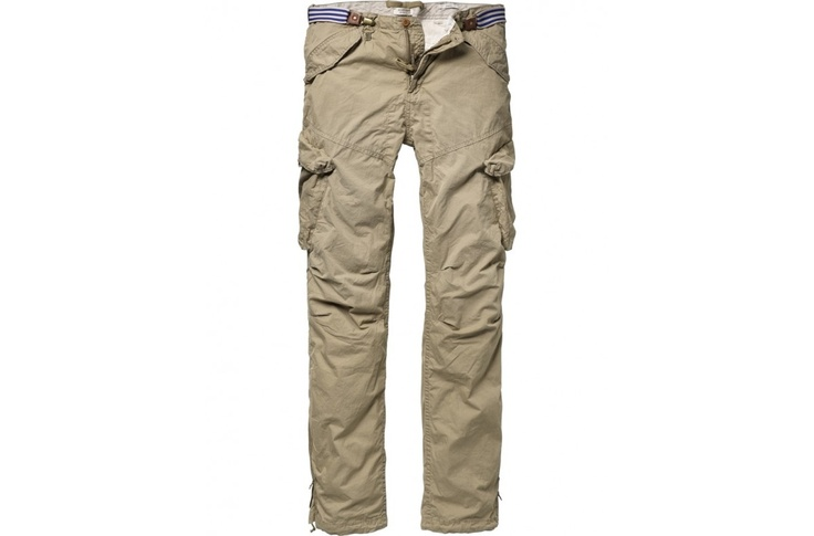 Flight pants with clip-belt