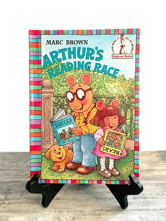 Arthur's Reading Race by Marc Brown #StepintoReading #EasyReading #ArthursReadingRace #MarcBrown