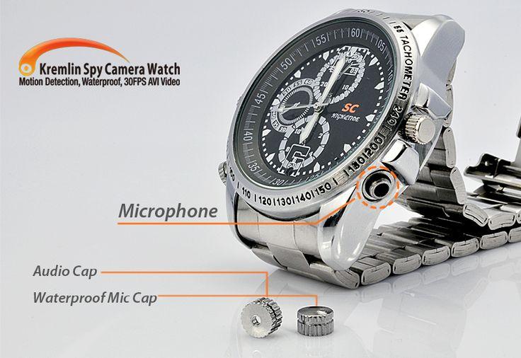 Kremlin - Spy Camera Watch (Waterproof, 640 x 480, 4GB)