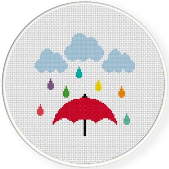 Design by Daily Cross Stitch Stitched by ME! Will be stitched on 14ct white aid…