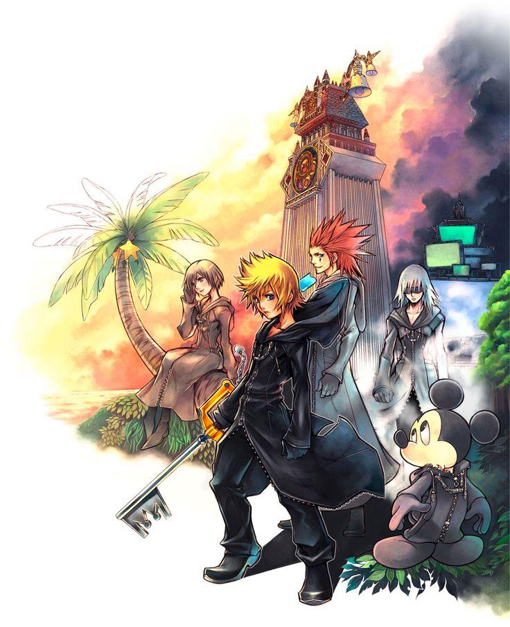 Kingdom Hearts 358/2 Days - Main Illustration