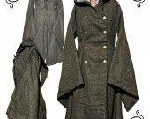 manteau Kimono Opéra, confection sur commande : Manteau, Blouson, veste par itzalak-joko