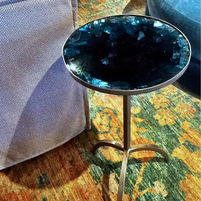 Blue Table by @JeremyJonesFineFinishes