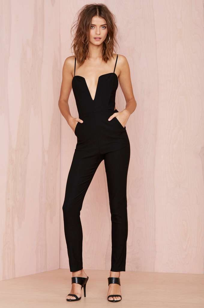 Nasty Gal Midnight Run Jumpsuit | Shop Rompers + Jumpsuits at Nasty Gal.  GET IN MY CLOSET