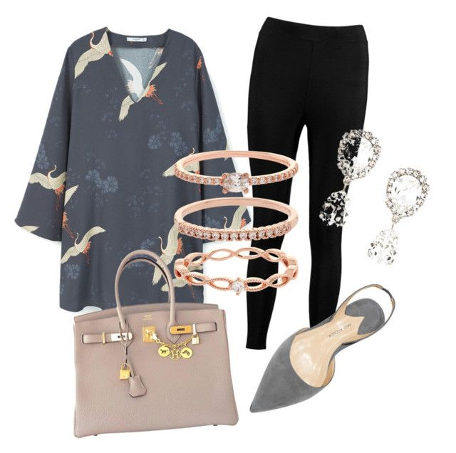 mama by sherlytha on Polyvore featuring MANGO, Boohoo, Hermès, Dolce&Gabbana and Accessorize