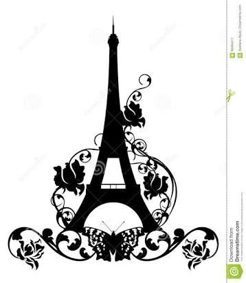 Image result for vector torre eiffel rosa