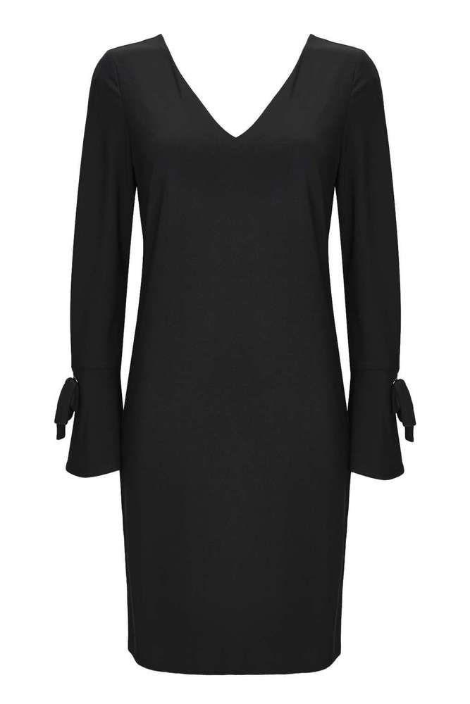 Wallis Petite Black Eyelet Flare Sleeve Dress Size Uk 10 Rrp 36 Dh083 Uu 13 Fashion Clothing Shoes Accessories Clothes For Women Flare Sleeve Dress Clothes
