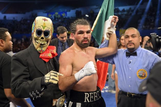 I talk with Alfredo Angulo prior to his fight with Canelo