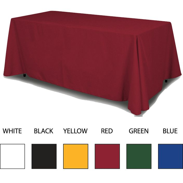 Custom printed table throws and table covers are a great way to make a first impression while promoting your company at tradeshow exhibits. Our solid color table covers are available in 6 popular colors and perfect for trade shows and expos.   #Customprintedtablethrows #Lasvegascolorprinting #PrintingServicesLasVegas #ScreenPrintingLasVegas #LasVegasPrintShops