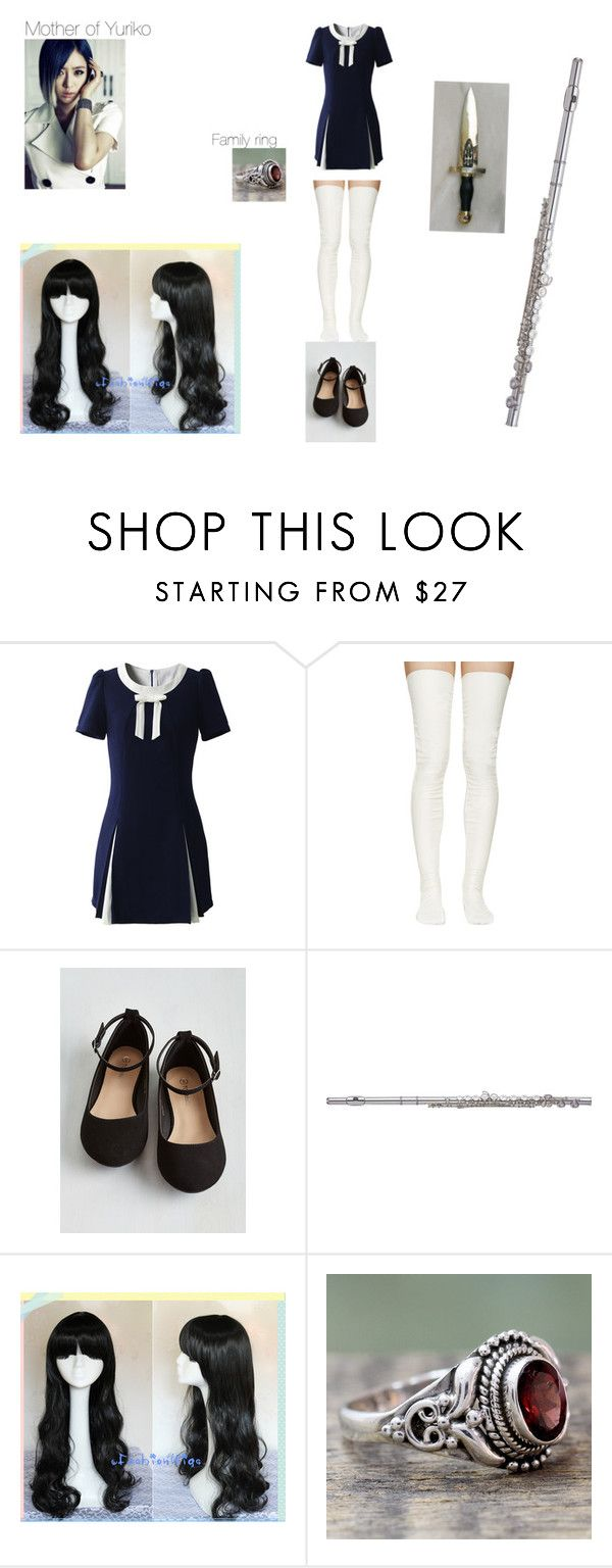 """Das Geheimnisvolle Mädchen (Fanfiction)"" by haruhikurosaki-demon ❤ liked on Polyvore featuring Chicwish, Sacai Luck, Yamaha and NOVICA"