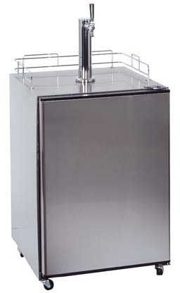 Commercially Approved Outdoor Beer Dispenser In Complete Stainless Steel by Summit Appliance. $1902.52. U.L. approved for outdoor use, with three levels of weatherproofing in design. Converts to a refrigerator for added convenience. All stainless steel construction for durable luxury. Includes everything you need to pour the perfect draft. Commercially approved to NSF-18. All stainless steel construction for durable luxuryU.L. approved for outdoor use, with three levels of w...