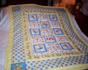 30 best baby quilts images on Pinterest   Quilt baby, Toddler ... : peter rabbit baby quilt - Adamdwight.com