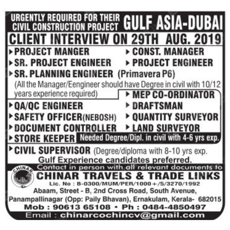 Gulfjobs Dubai Saudi Qatar Recruitment Jobs Portugal Unemployed Asia Europe Singapore Nurse Doctor Russia Local Engin Dubai Engineering Civil Construction