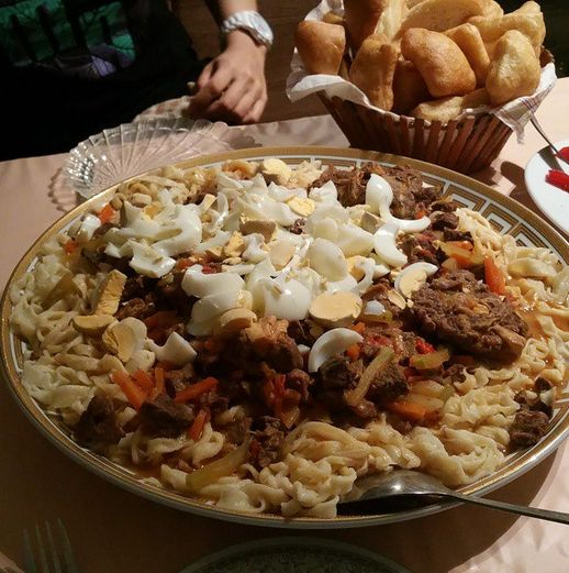 59 best central asia cuisine food images on pinterest asian laghman at my kazakh host sisters house in aktau kazakhstan x in central asia the lamian has thicker noodles compared to the chinese dish forumfinder Gallery