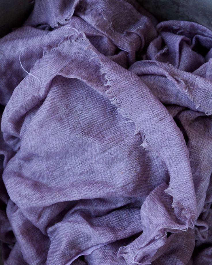 My obsession this week is over dyed linen. It started last weekend when I needed…