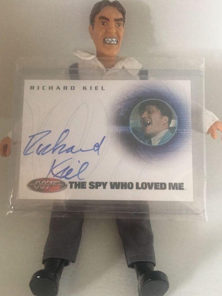 Richard Kiel as Jaws James Bond 007 40th Anniversary Autograph Auto Card A10 | eBay