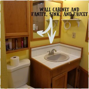 Cabinets & Counter for Sale in West Palm Beach, FL | Sink ...