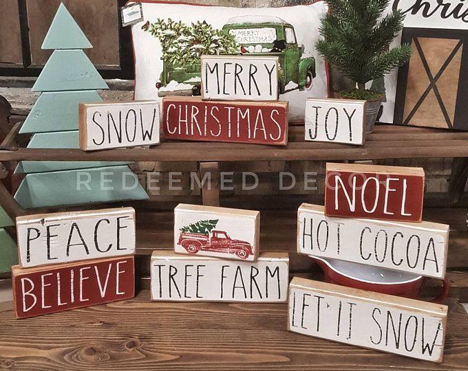 2021 Farm Show Christmas Craft Show Farmhouse Rae Dunn Inspired Stencil Pack Etsy In 2021 Christmas Wood Christmas Signs Christmas Diy