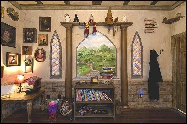 Hogwarts Dormitory Themed Bedroom For The Home