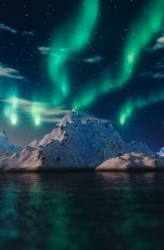 THE NORTHERN LIGHTS IN ALASKA..........PARTAGE OF HEAVEN ON EARTH......ON FACEBOOK.......