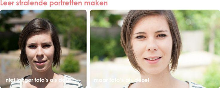 Workshop Portretfotografie met natuurlijk licht - Laura Vink - € 195 incl. lunch