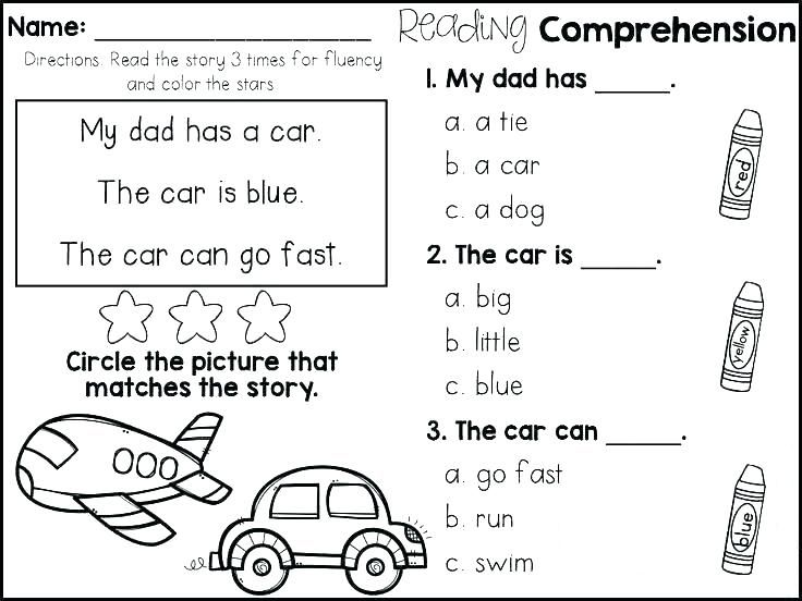 Free First Grade Reading Fluency And Comprehension 1st Grade Reading Worksheets Reading Fluency First Grade Reading