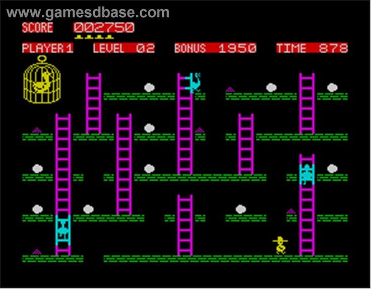 Chuckie Egg - ZX Spectrum