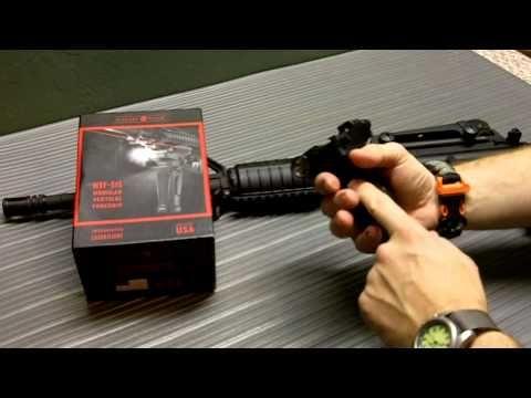 Crimson Trace MVF 515 Vertical Foregrip Install on Bushmaster AR 15 - http://fotar15.com/crimson-trace-mvf-515-vertical-foregrip-install-on-bushmaster-ar-15/