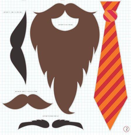 Ties and beards