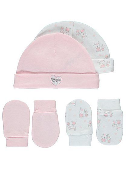 2 Pack Hat and Scratch Mitts, read reviews and buy online at George at ASDA. Shop from our latest range in Baby. Keep your little one snug and protect their ...