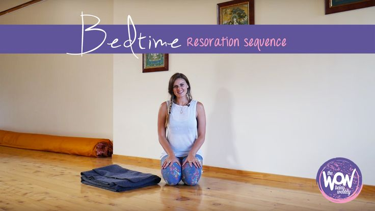 Week 21: Restore before bed - A 20 minute restorative practice for your lower body, exploring the art of deeply letting go. Best experienced just before bed time. Sweet dreams! xo
