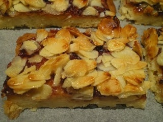 Almond and Raspberry Slice  Recipe from Bill Granger