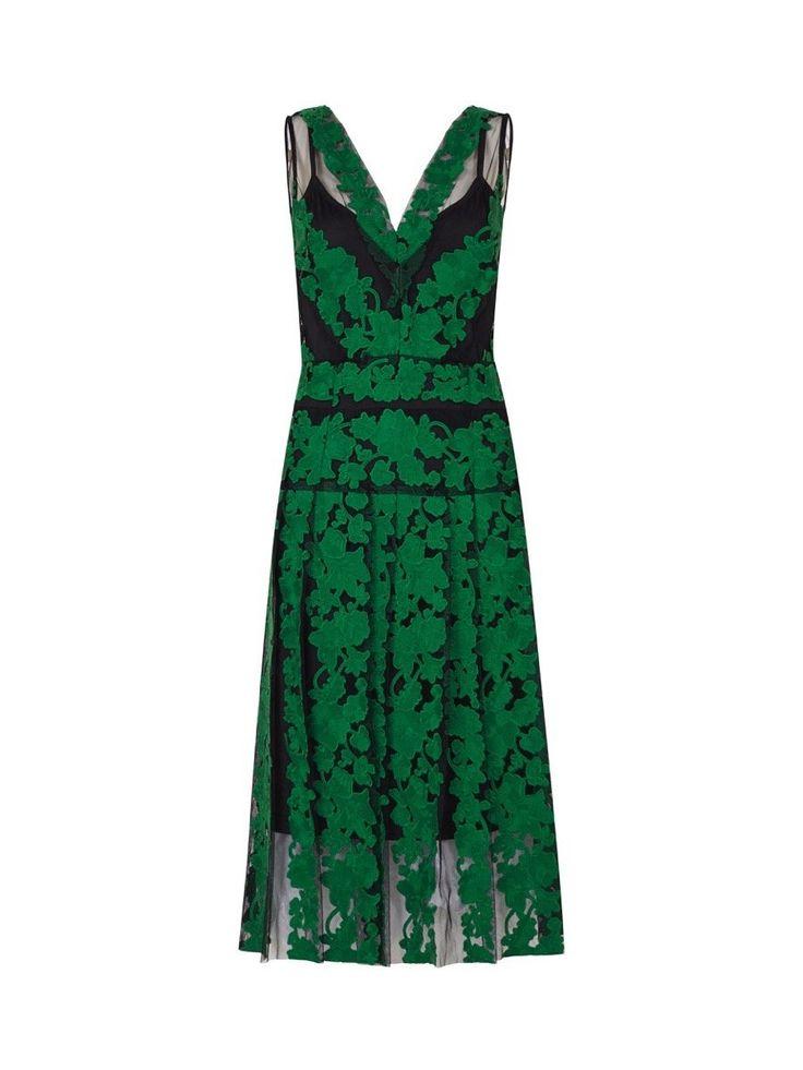 Moss and Spy - Zalea Dress Emerald