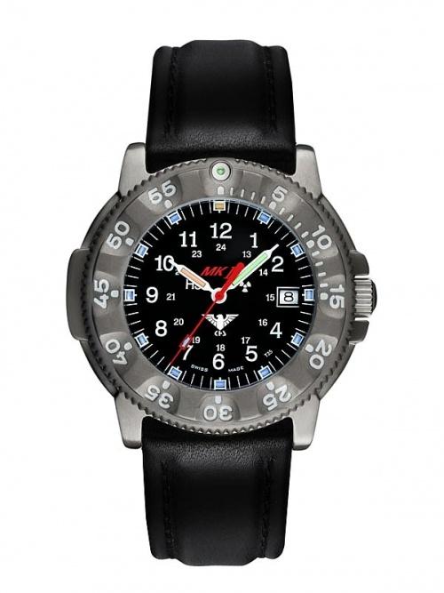 KHS Comm. Titan Pro Operation Timer mit Leder Armband