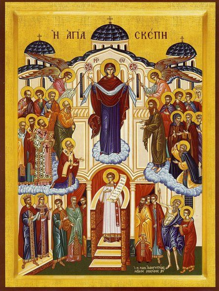 """""""Pokorv"""" :: Theotokos """"The Holy Protection"""""""