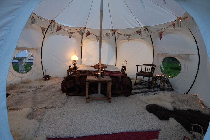 Lotus Belle beautiful handmade glamping tents by Lotusbelletents, $1,500.00