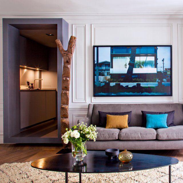 Un Appartement De 54 M2 Rénové Selon Les Codes Du XVIIe