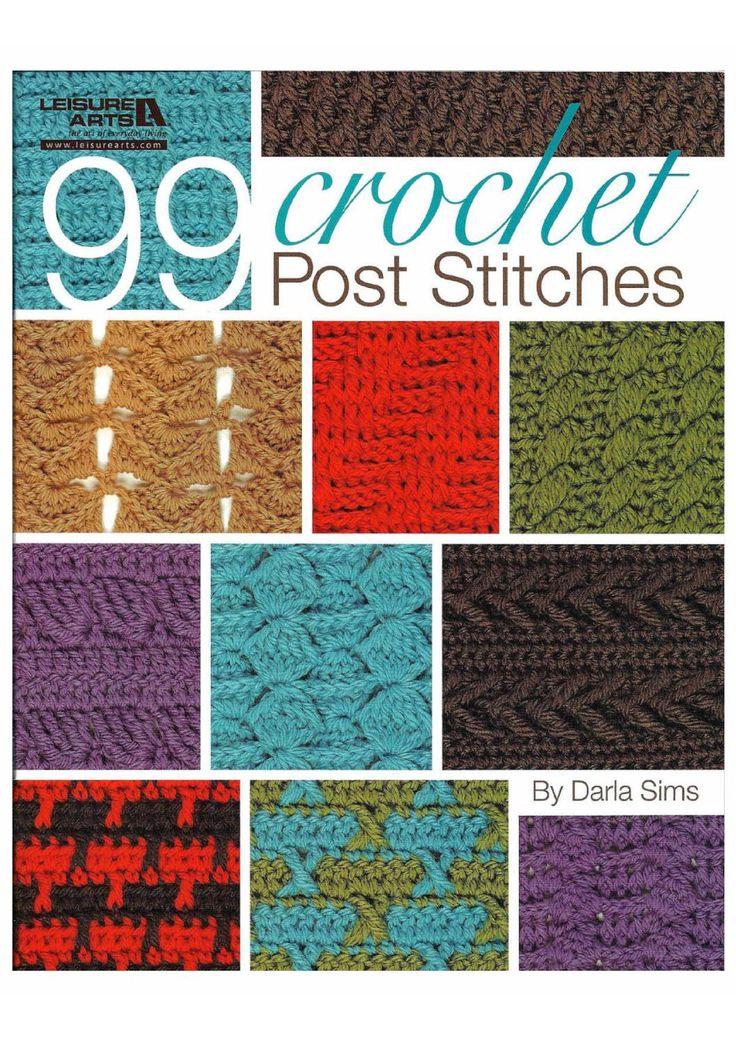 ISSUU - 99 crochet stitches 2010 by tsiisfamke