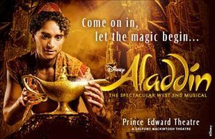 Disney's Aladdin at Prince Edward Theatre, London