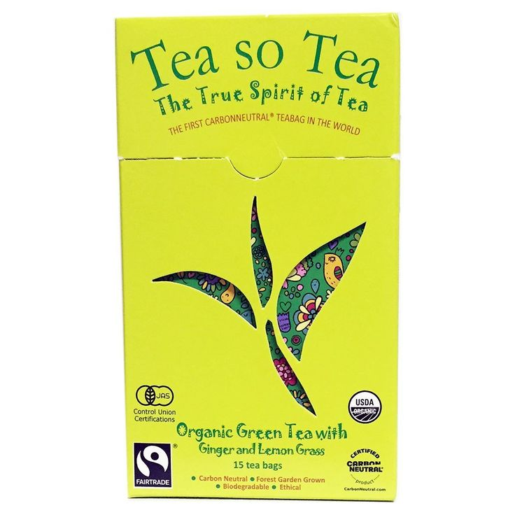 Organic herbal tea, green tea, ginger and lemon grass ** Be sure to check out this awesome product. (This is an affiliate link and I receive a commission for the sales)