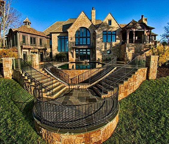 Beautiful Custom Stone Home Your Dream Can Become A