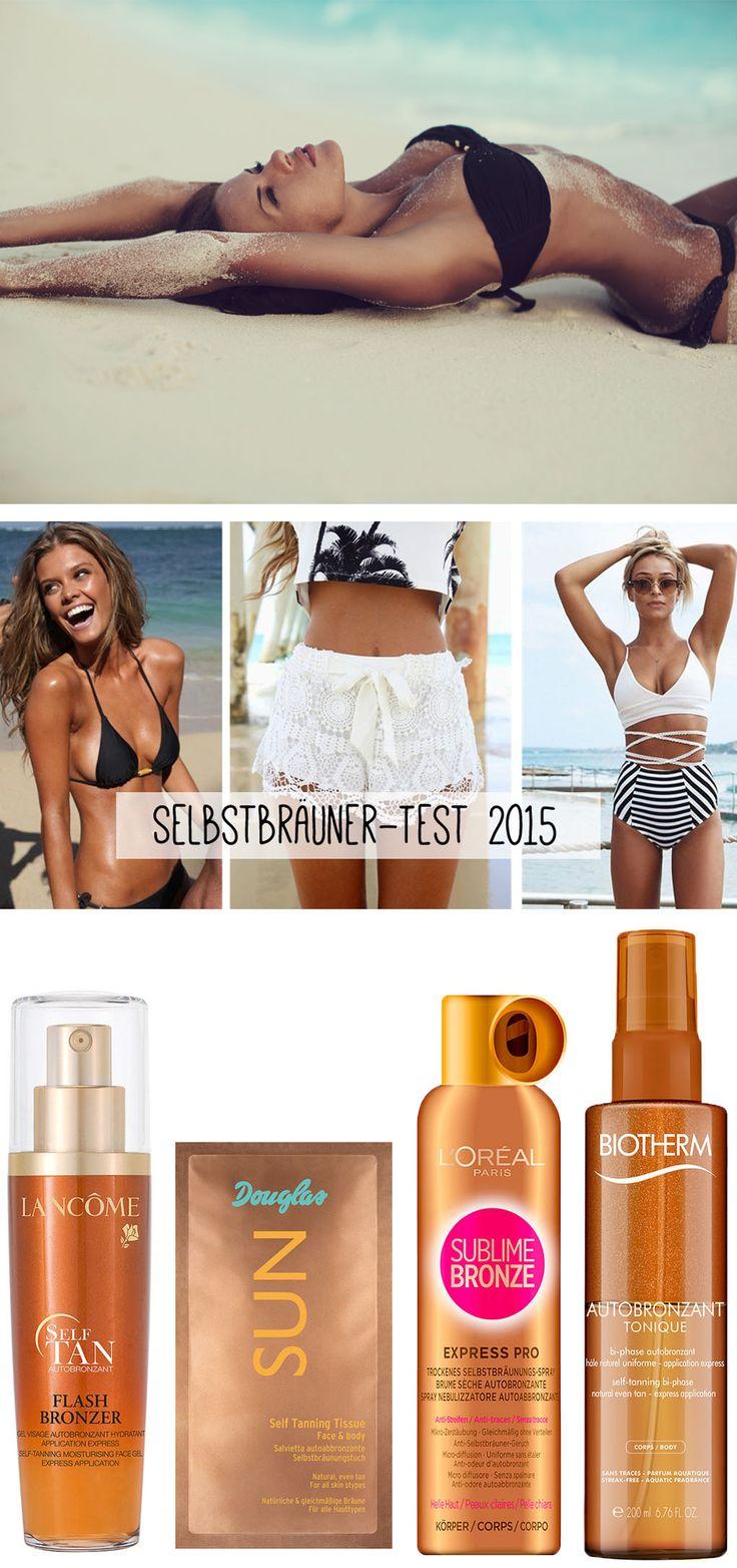 Gel, Spray, Tücher - der Beautymarkt bietet mittlerweile eine breite Palette an Selbstbräunern an. Unsere gofeminin-Redaktion hat sich einem Selbstbräuner-Test unterzogen und unterschiedliche Produkttypen auf Körper und Gesicht gecremt, gesprüht und gerieben. Hier kommen die Ergebnisse von unserem Selbstbräuner-Test 2015.  Jetzt auf gofeminin.de!  #gofeminin #beauty#test #selbstbräuner #selbstbräuner-test2015 #tanning #faketan
