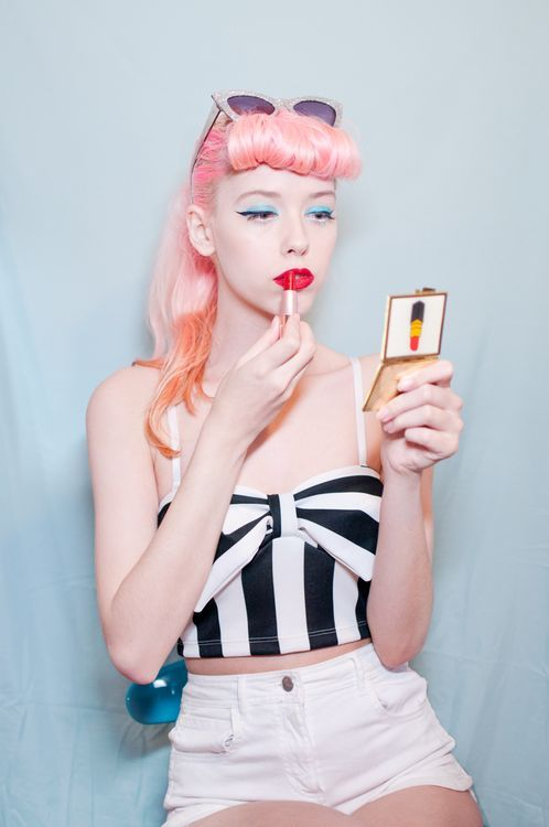 25 best Kawai makeup images on Pinterest Hair dos, Cabello de - www küchen quelle de