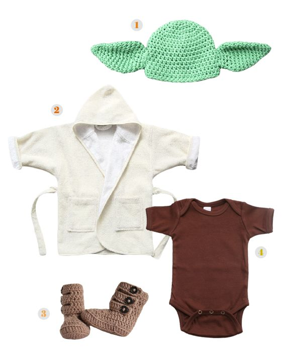 Yoda. Too bad I no longer have a tiny baby to dress up...