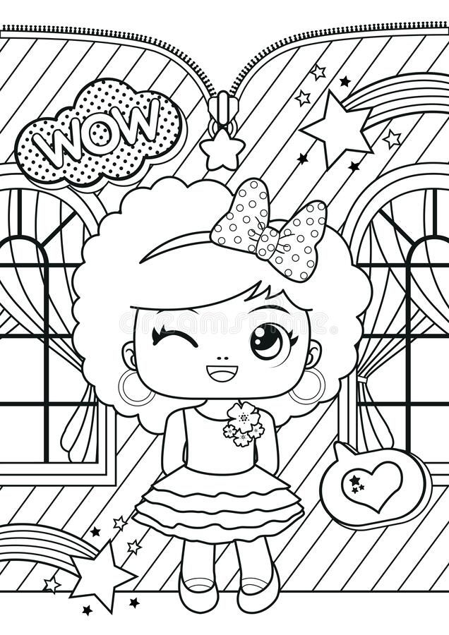 Dreamstime Illustration Art Vector Template Coloring Page Book Drawing Color Kids Child A Coloring Pages Coloring For Kids Coloring Pages For Kids