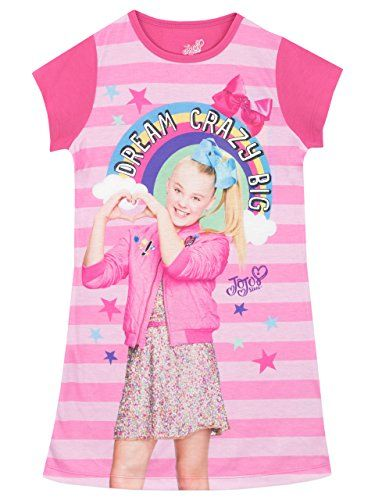 JoJo Siwa Girls Jojo Nightdress Age 9 to 10 Years Jojo Siwa https://www.amazon.co.uk/dp/B076F6WNTG/ref=cm_sw_r_pi_dp_x_wMF-zbME0YCYF