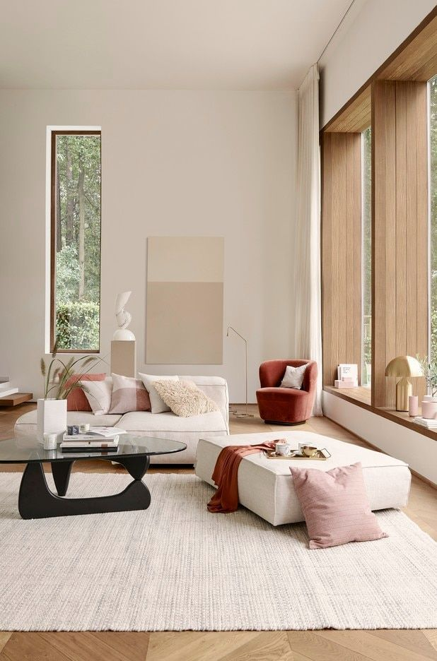 What S Trending In Interiors For Spring Minimalist Living Room Living Room Interior Living Decor
