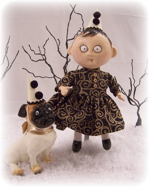 Coppermouse Dolls: Agnes Futtleplum and Petey